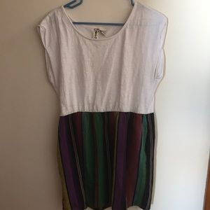 Multicolored Tunic Dress